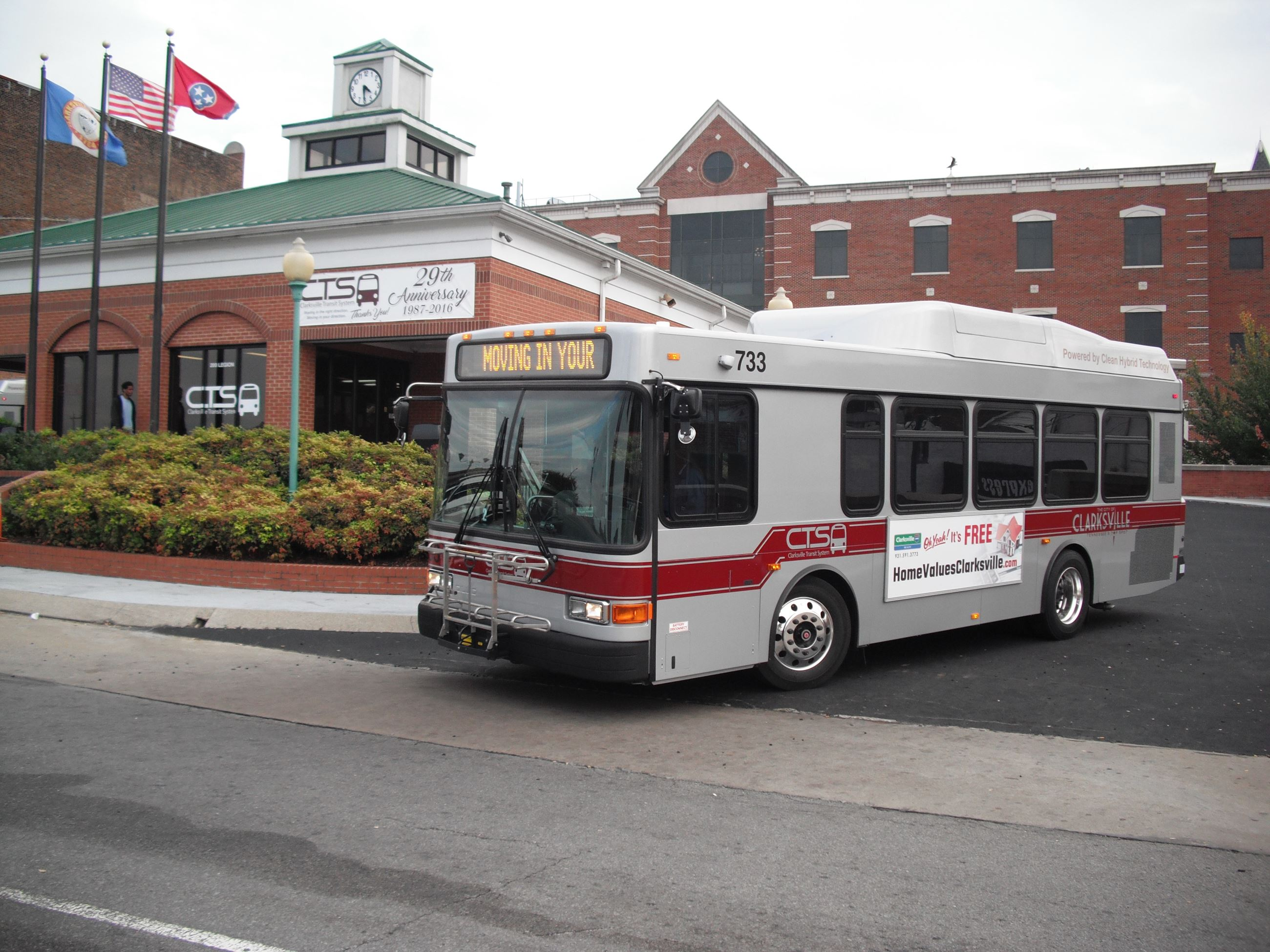 Transit System Bus Photo